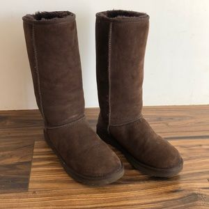 Ugg tall brown boots